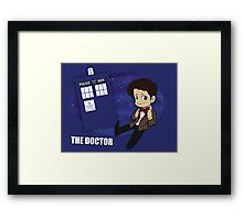 Doctor Who - 11th Doctor Framed Print