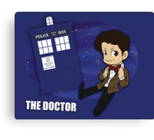 Doctor Who - 11th Doctor Canvas Print