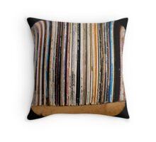 Records TTV Throw Pillow