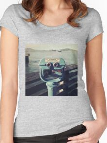 Viewing Alcatraz Women's Fitted Scoop T-Shirt