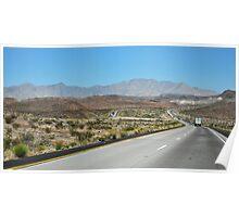 American Freeway Poster