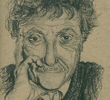 Kurt Vonnegut by Andy Sherman