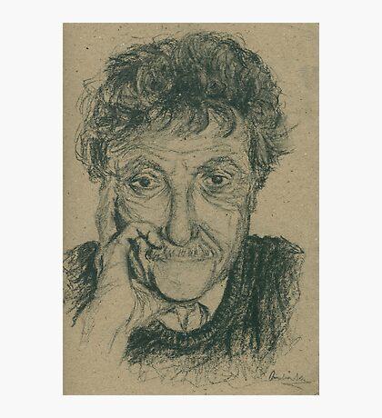 Kurt Vonnegut Photographic Print