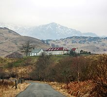 The Road to Inversnaid by Christine Smith