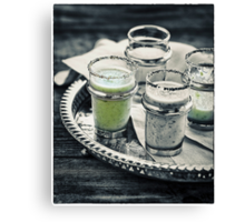 Cucumber Shooter Canvas Print