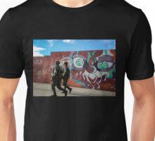 Soldiers and Street Art, Bogota Unisex T-Shirt