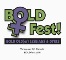 BOLDFest Fundraiser Logo Tee by boldfest