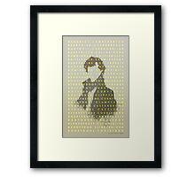 Variations on Cumberbatch Framed Print