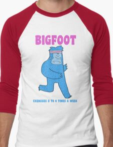 Bigfoot exercises 3 to 4 times a week T-Shirt