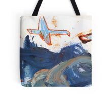 birds above the clouds Tote Bag