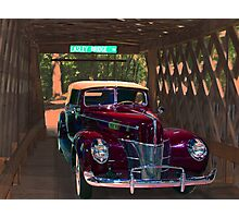 Stemley Covered Bridge Photographic Print