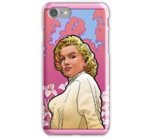 Marilyn Monroe in Mucha iPhone Case/Skin