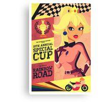 Princess Peach Mario Kart Canvas Print