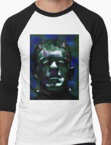 """""""The Monster"""" Frankenstein Painting Men's Baseball ¾ T-Shirt"""
