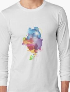 Bubbled Long Sleeve T-Shirt