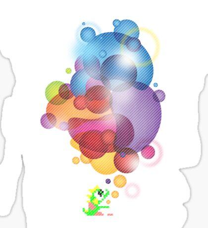 Bubbled Sticker