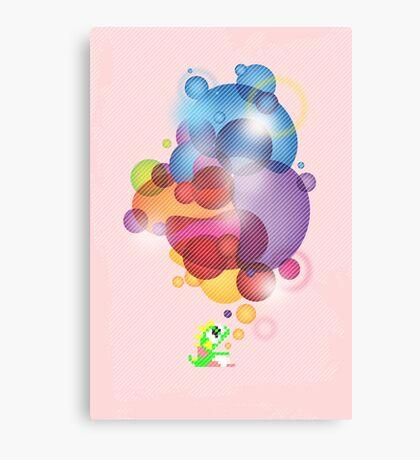 Bubbled Canvas Print