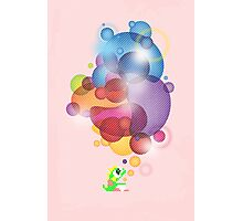 Bubbled Photographic Print