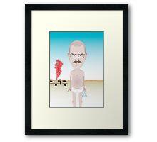 Breaking Bad. Walt. Framed Print