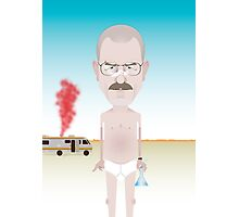 Breaking Bad. Walt. Photographic Print