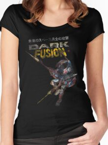 Dark Fusion Women's Fitted Scoop T-Shirt