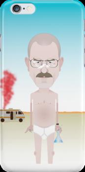 Breaking Bad. Walt. by Mrdoodleillust