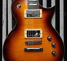 ESP LTD EC401VF Electric Guitar - iPhone Case by HoskingInd