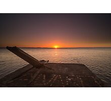 End of the day - Sunset in Nicaragua Photographic Print