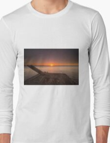 End of the day - Sunset in Nicaragua Long Sleeve T-Shirt