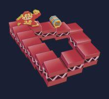 Donkey Kong infinite barrel roll by axletee