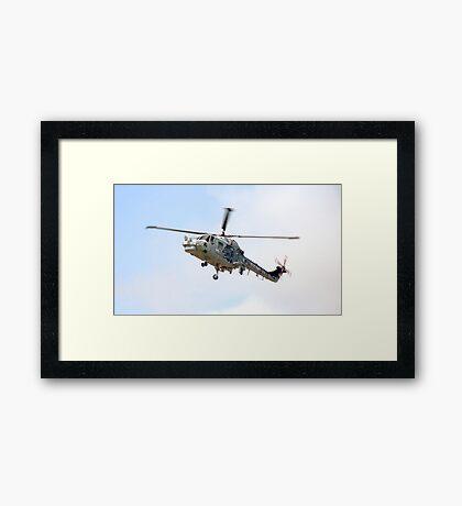 Southport Air Show Westland Lynx Framed Print