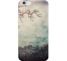 I Like Trees...  - Vintage Grunge Landscape Art  iPhone Case/Skin