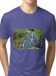 Texas Falls II Tri-blend T-Shirt