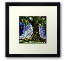 Gifted tree Framed Print
