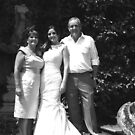 Bride and parents by Gary Power
