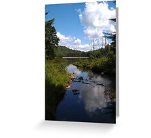 Parker Dam State Park, PA Greeting Card