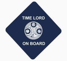 Time lord on board Car Sticker! by heroinchains
