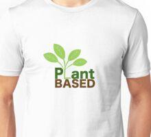 Plant Based Vegan Art Unisex T-Shirt