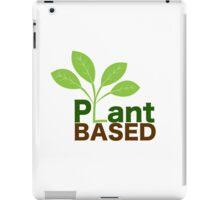 Plant Based Vegan Art iPad Case/Skin