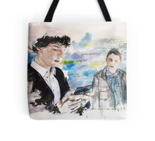 First Meeting  Tote Bag