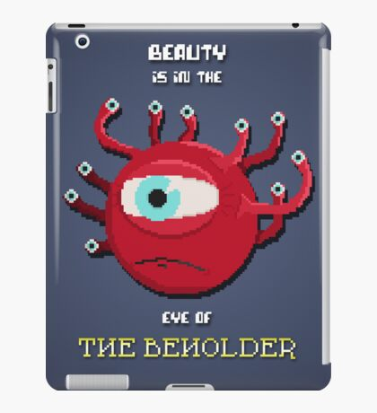 Beauty of the Beholder iPad Case/Skin
