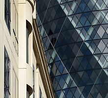 Juxtaposition; the old & the new by CliveHarris
