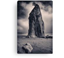 Rialto Beach Sea Stack Canvas Print