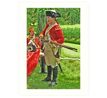 The Red Coats Are Coming! Art Print
