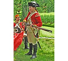 The Red Coats Are Coming! Photographic Print