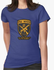 2nd MASS Womens Fitted T-Shirt