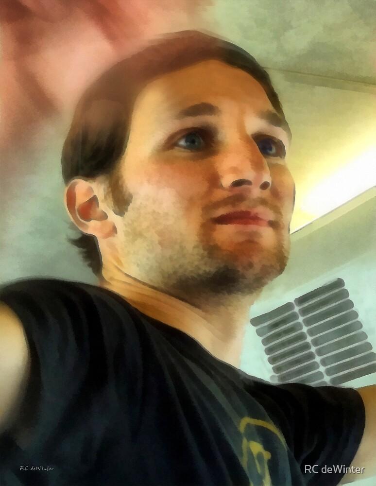 Blue-Eyed Boy on the Bus by RC deWinter