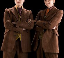 Fred and George Weasley by A5-TheGlue
