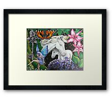 Twilight Fantasy Framed Print