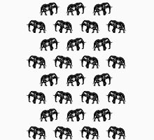 Cool Africa Pattern Elephant Picture Unisex T-Shirt